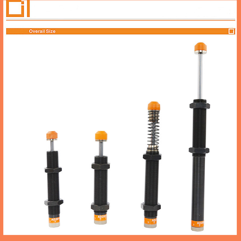 Ad Series Ad14 Ad20 Hydraulic Industrial Auto Shock Absorber for Pneumatic Cylinder Adjustable Shock Absorber