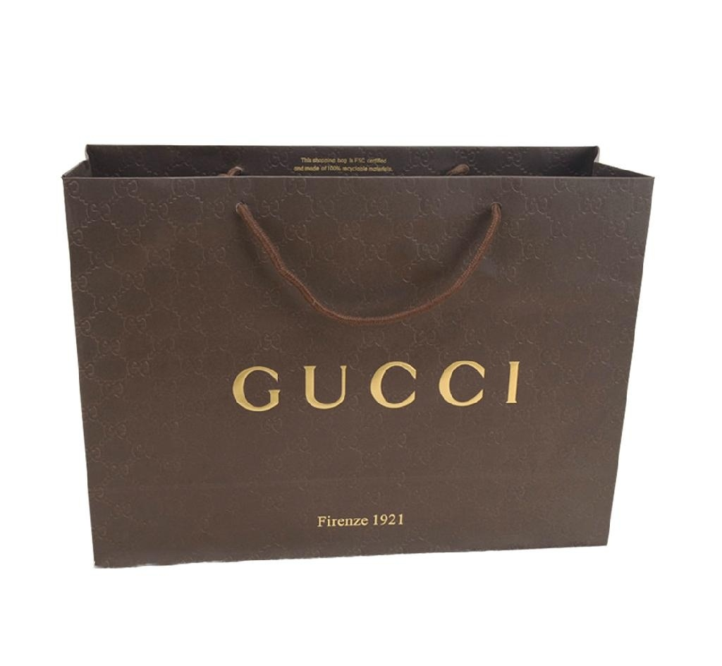 Luxury Paper Shopping Clothes Promotion Paper Bag