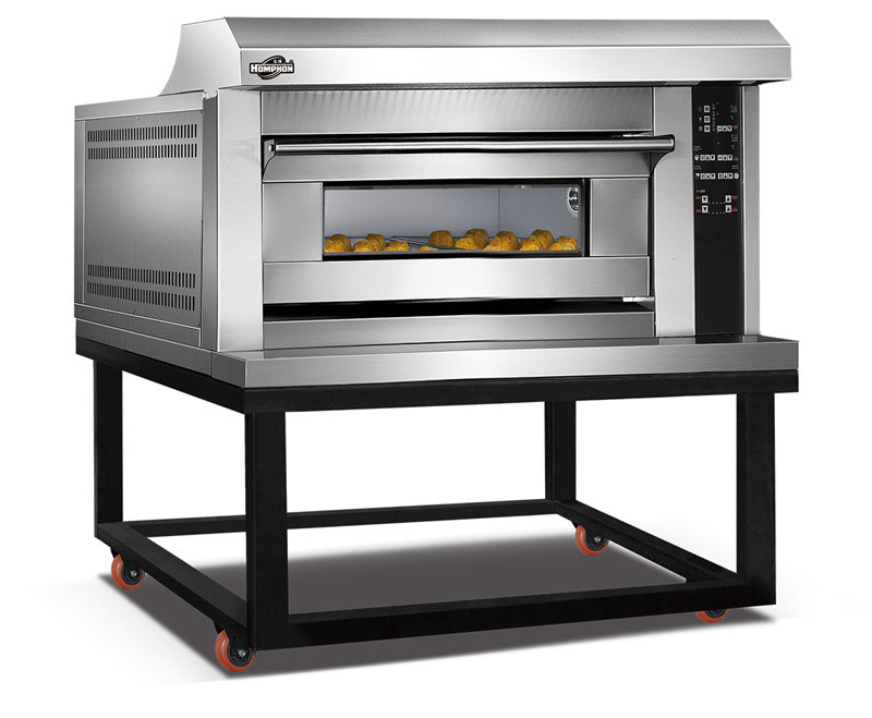 Gas Deck Oven with Chassic (102QHAF)