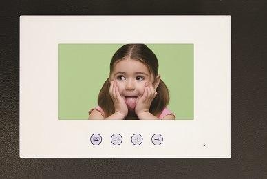 7inch Hands Free 4 Wires or 2 Wires Color Video Door Phone