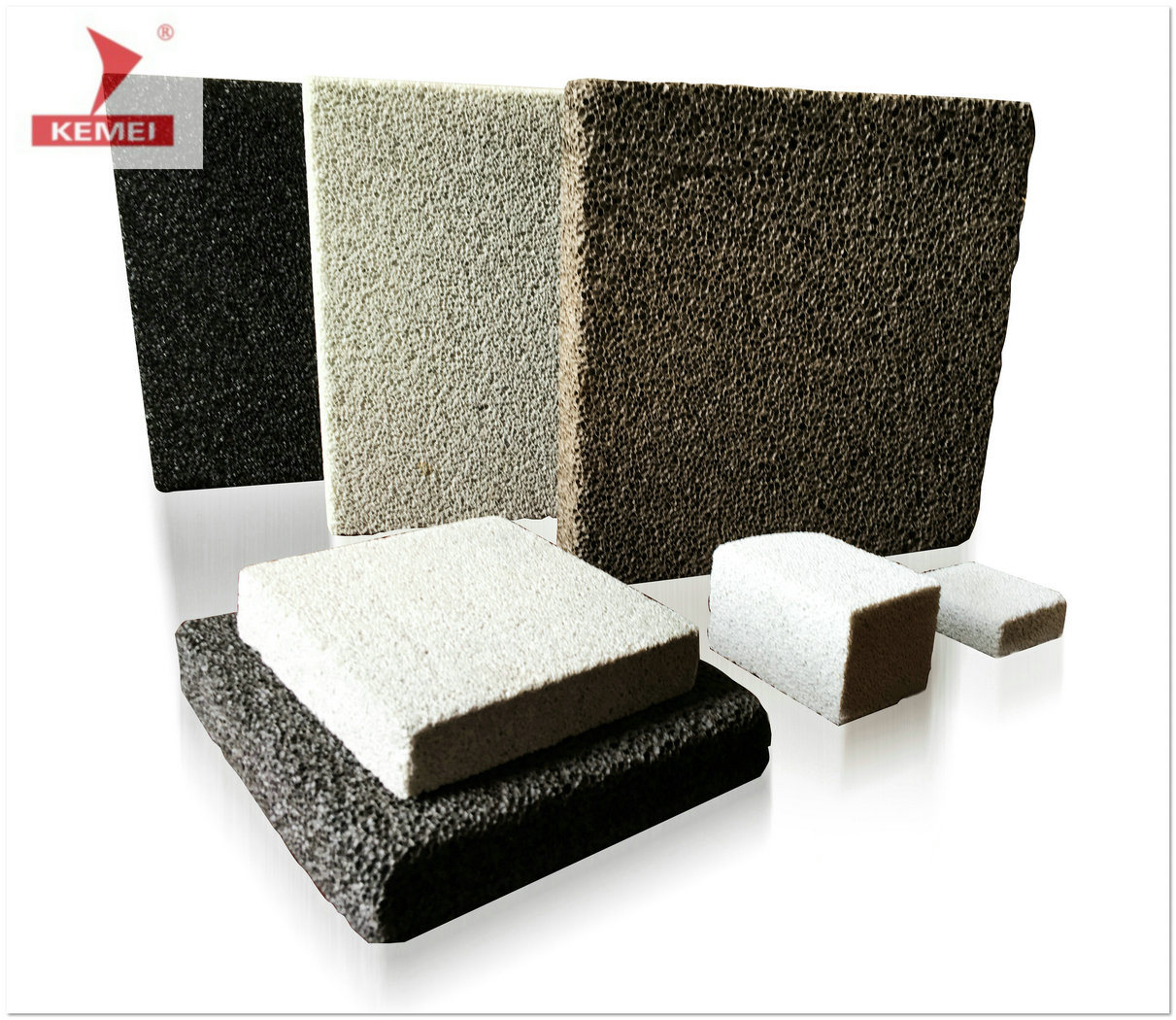 New Wall Insulation Material - A1 Fireproof Foam Ceramic Board