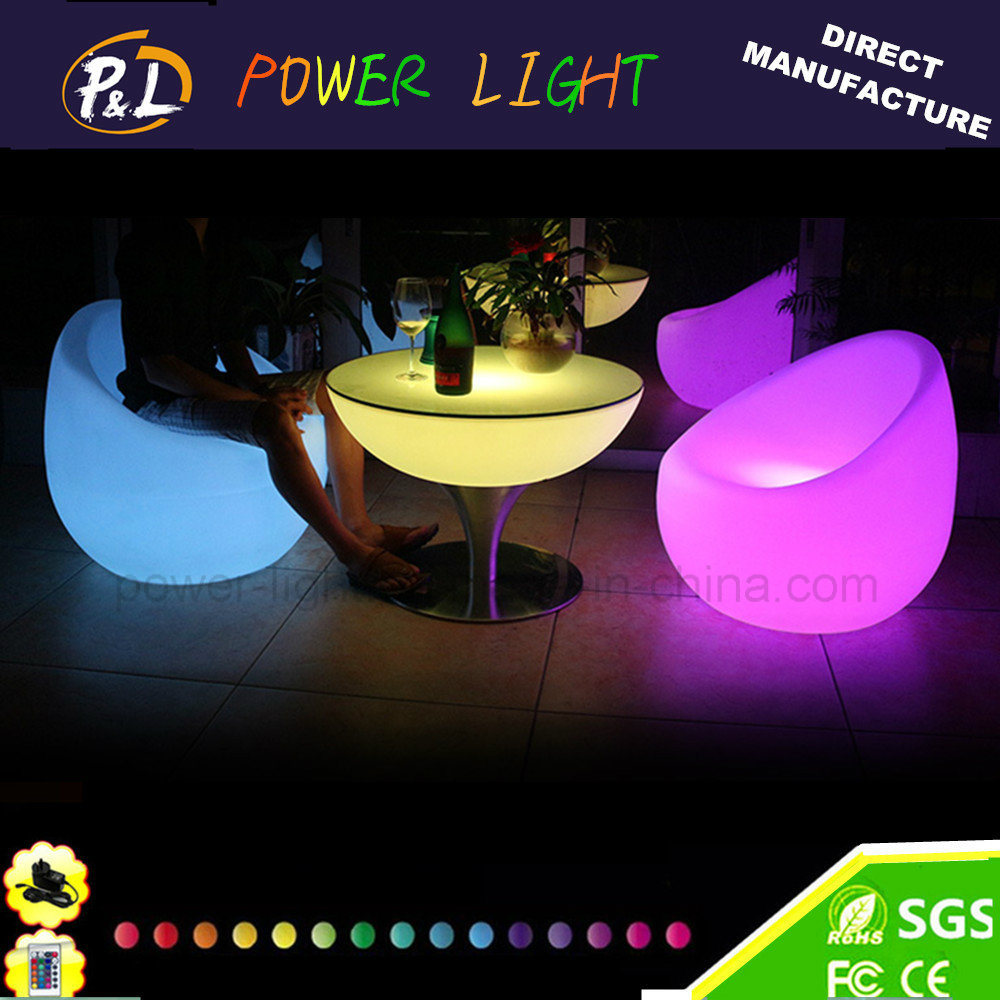 Event Decorative PE Material Plastic LED Furniture