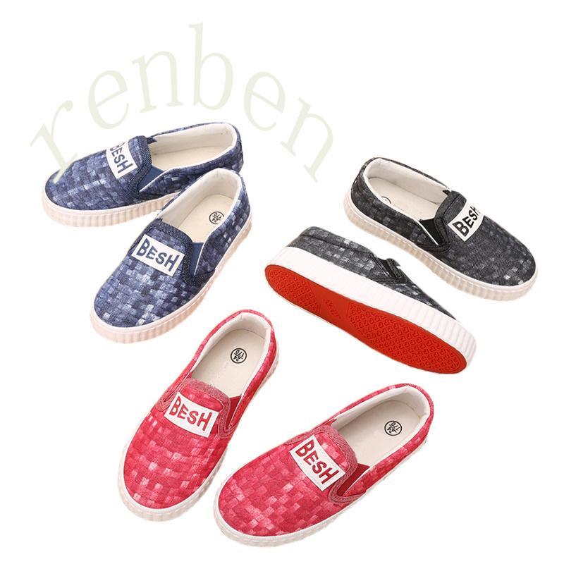 2017 New Hot Sale Children′s Fashion Canvas Shoes