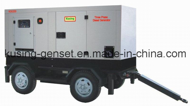 Portable Mobile Trailer Diesel Silent Generator Series