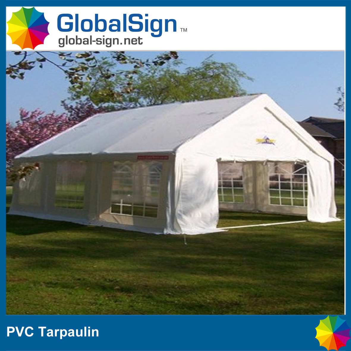 PVC Coated Tarpaulin for Awnings