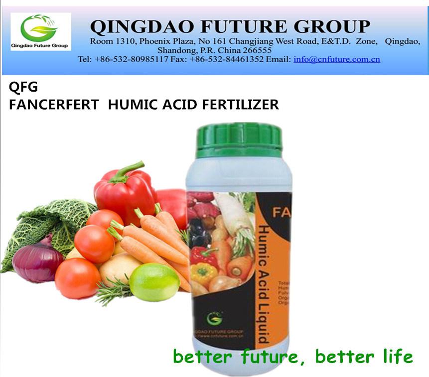 100% Organic Certificated Liquid Humic Acid Fertilizer for Africulture