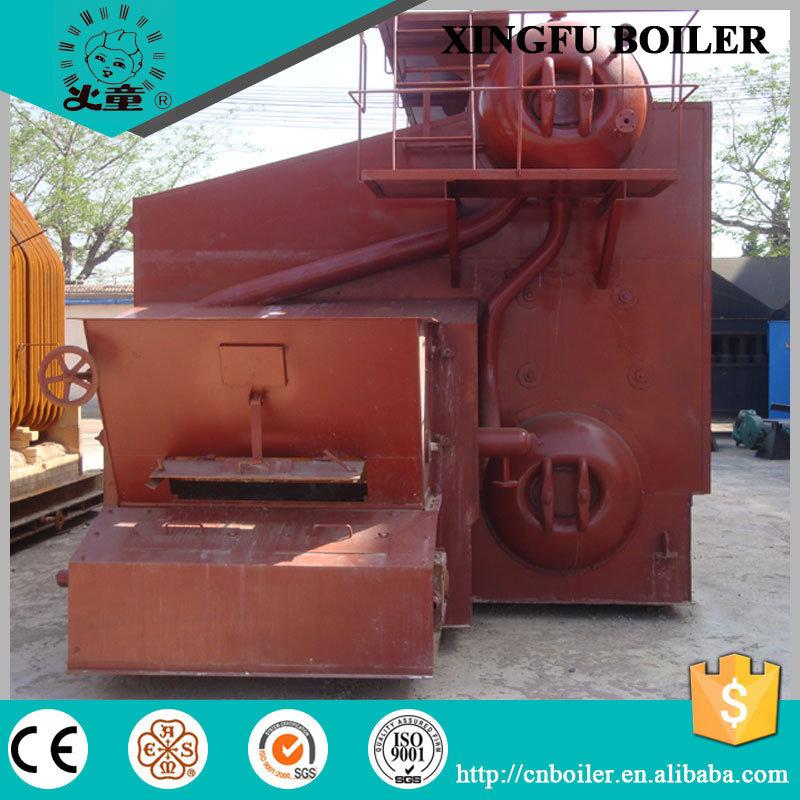 Wood Pellet Fired Steam Boiler