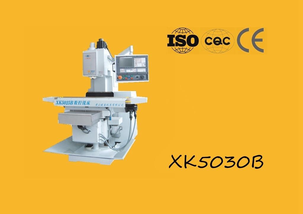 Xk5030b Knee Type CNC Milling Machine