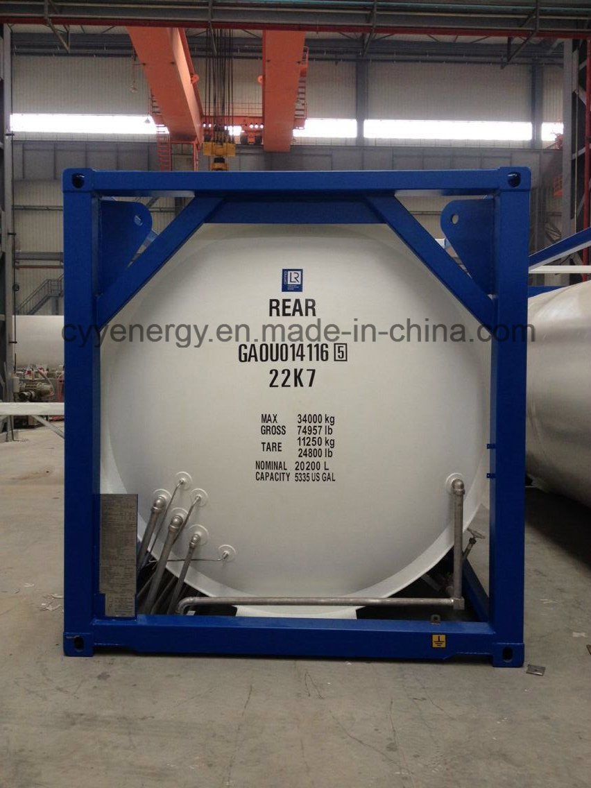 Newest High Quality and Low Price LNG Lox Lin Lar Lco2 Fuel Storage Tank Container