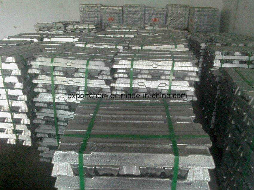 Aluminium Ingots 99.7% with High Qualtiy