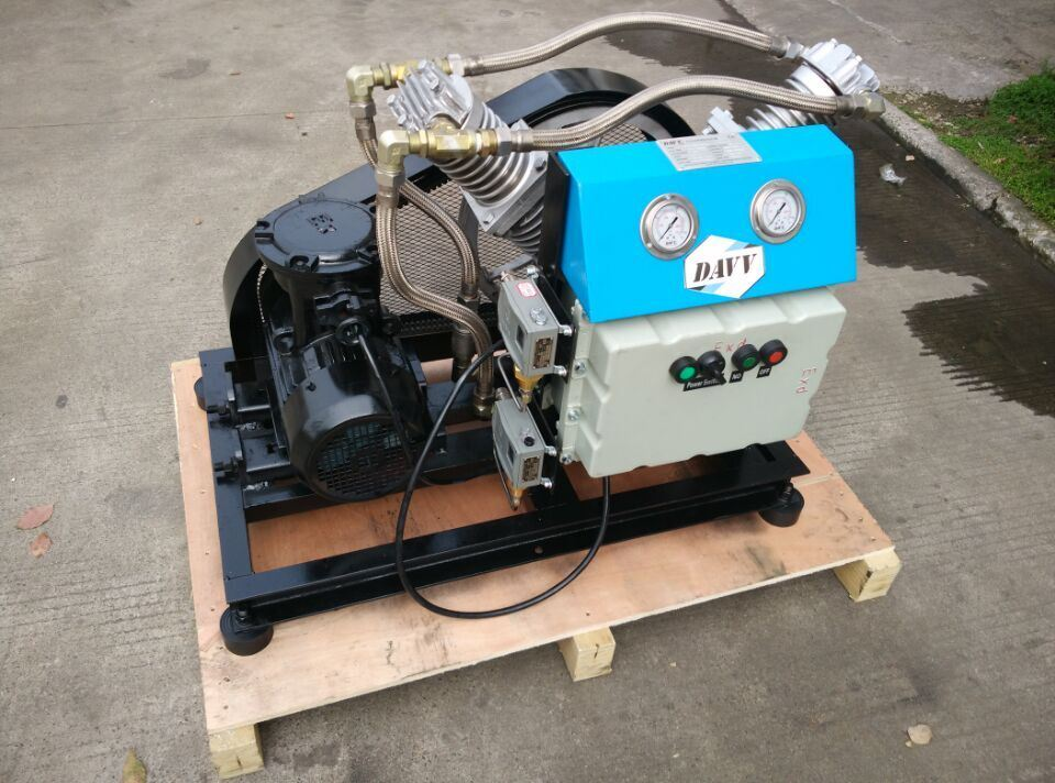 Oil Free Compressor for Air, Nitrogen, CO2, Biogas, Helium Gas