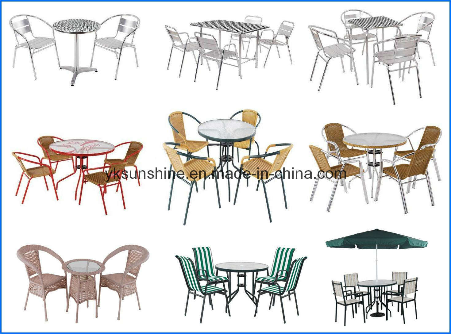 Aluminum Table and Chair (XY-701)