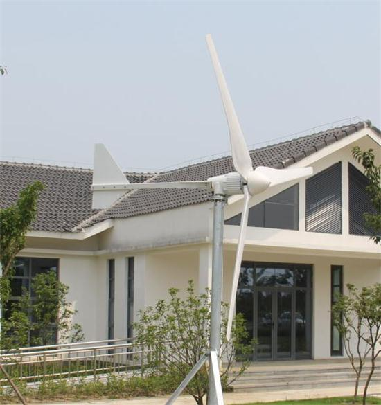 2000W 48/96V AC Horizontal Axis Wind Driven Generator with Controller/Inverter
