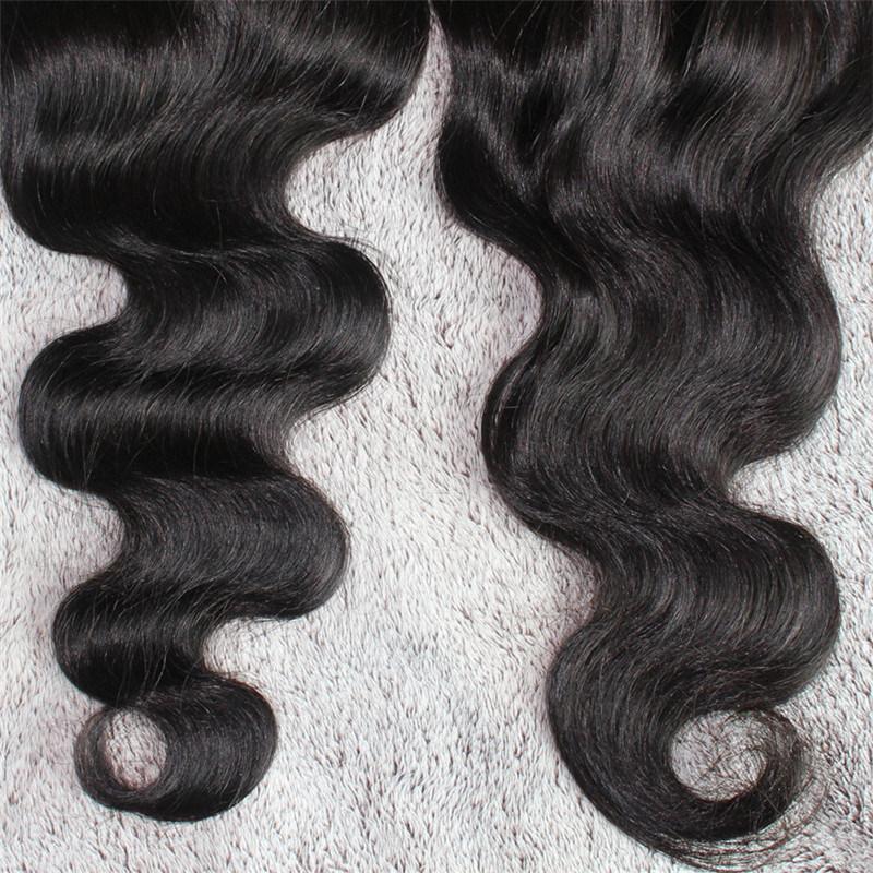 4*4 Body Wave Freestyle Brazilian Human Hair Closure