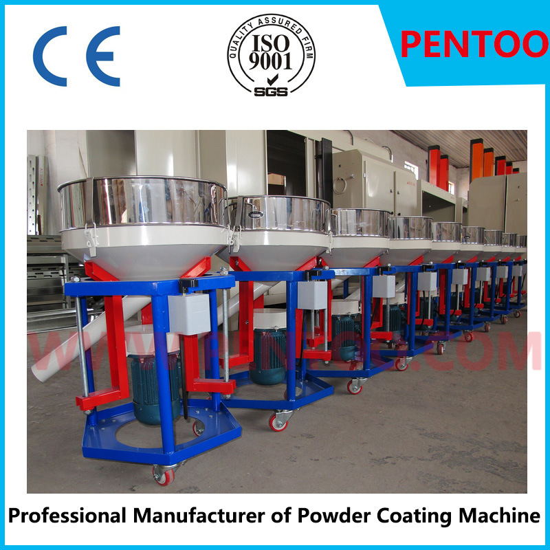 Latest Powder Sieving Machine in Powder Coating Line