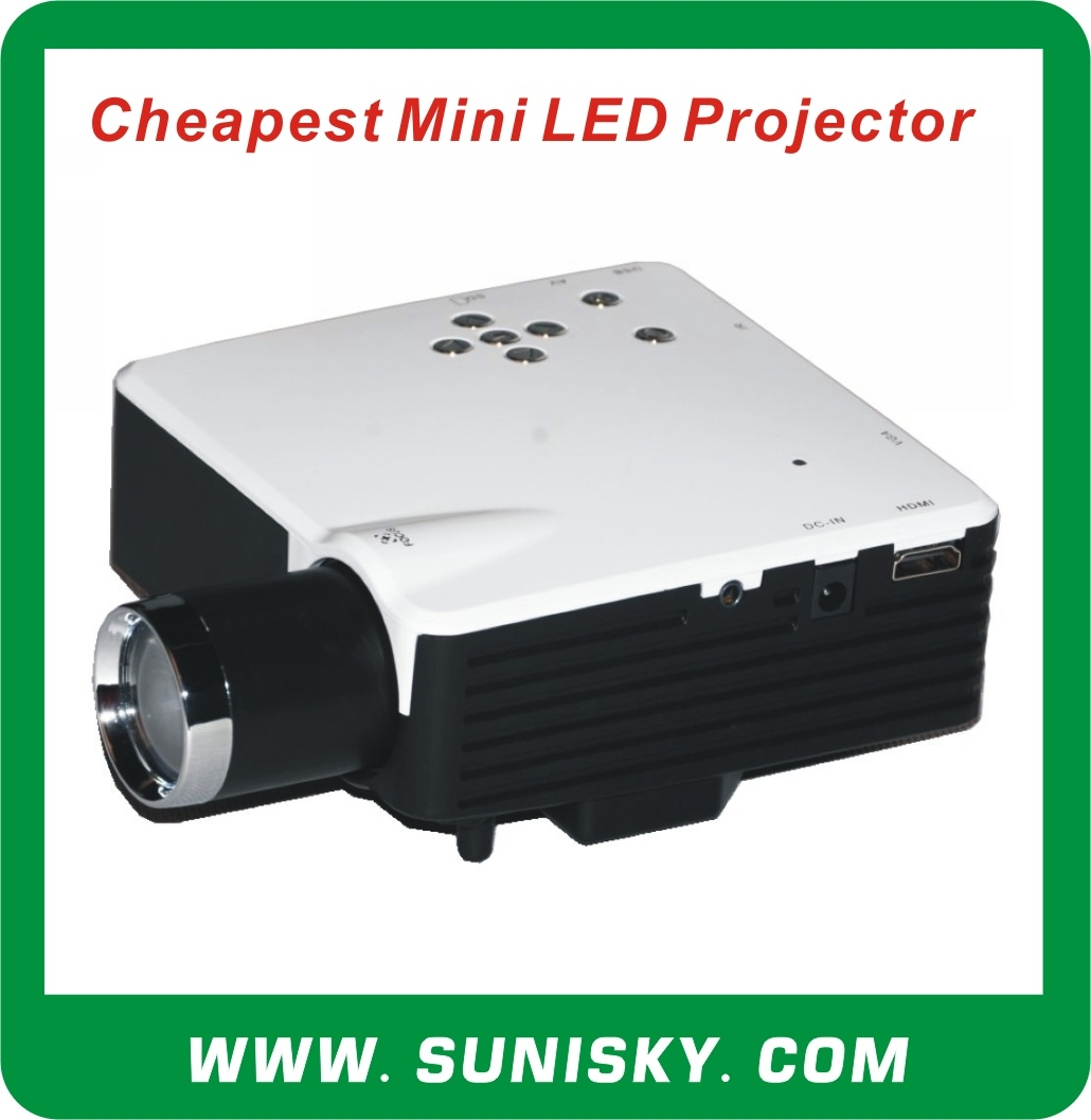 Smp7043 Cheap USD33 Mini LED Projector