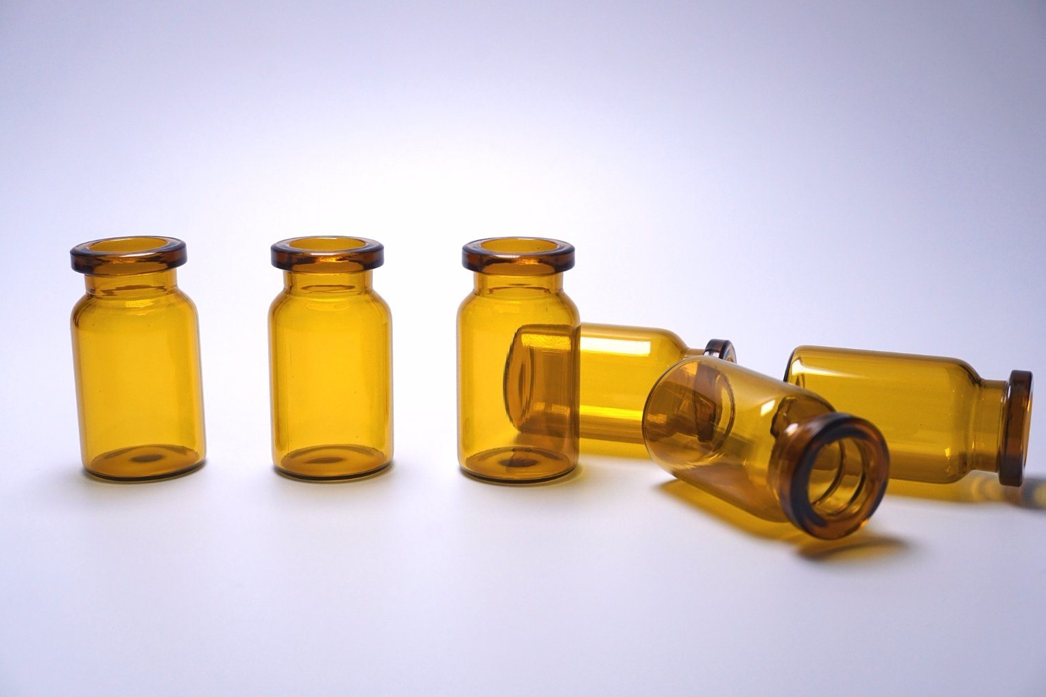 10ml Pharmaceutical Amber Glass Vial for Medical or Lab Use