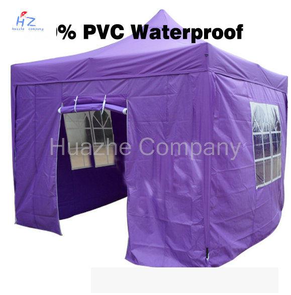 10ft X 10ft (3X3m) All Cross Folding Gazebo Folding Canopy Pop up Tent Easy up Gazebo