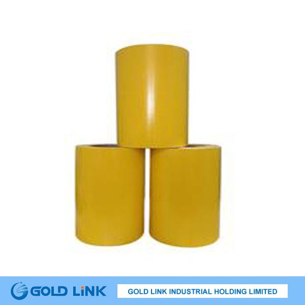 Self Adhesive Colored PVC Film (P6303-R Y BL GR)