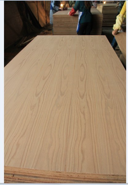 Factory-Natural Beech Fancy MDF Furniture Use 4.8mm and 12mm