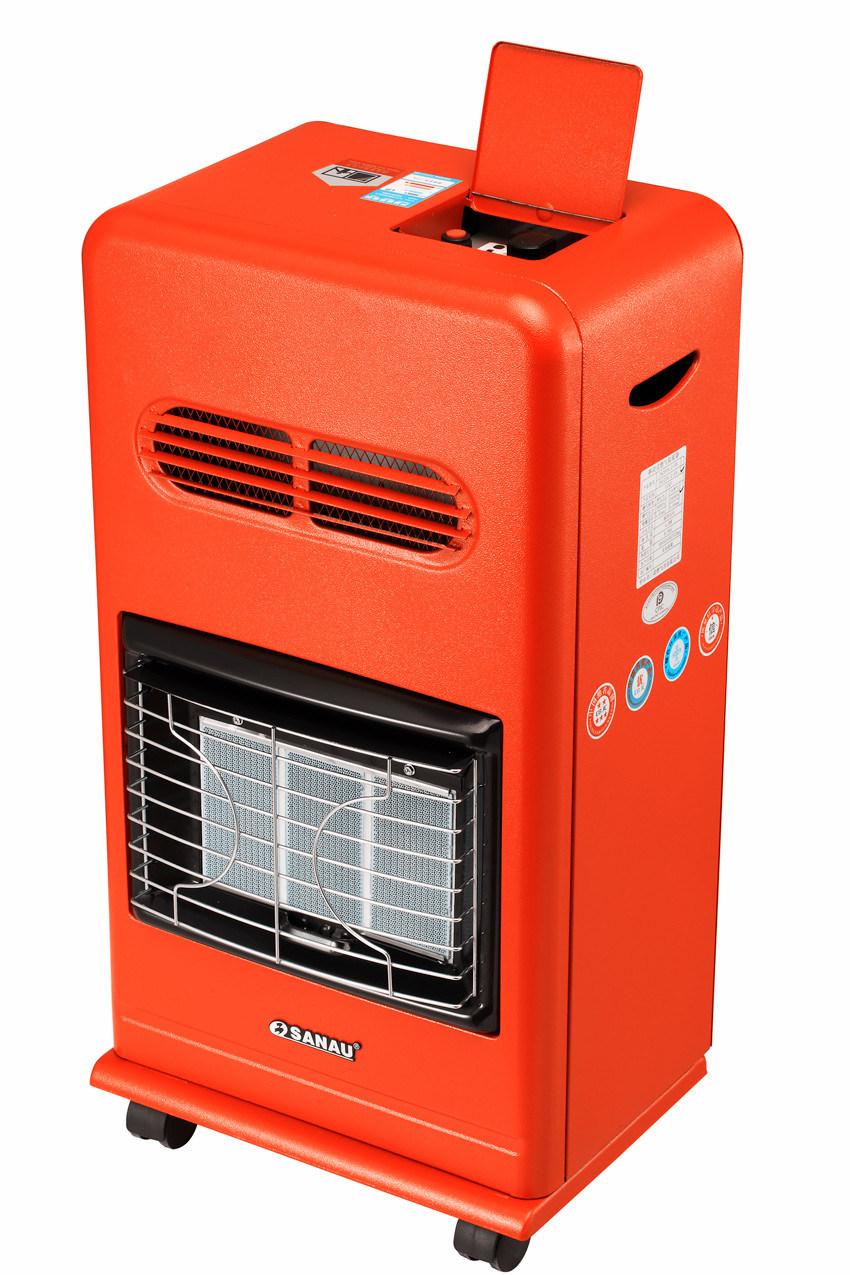 Mobile Gas Heater with 3plate Hight Efficiency Ceramic Burner Sn11-Af