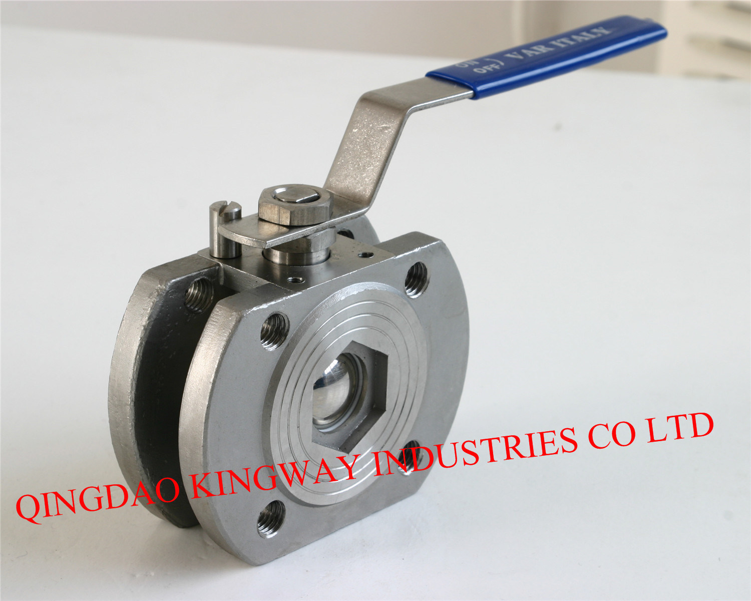 Stainless Steel 1-PC Wafer Flanged Ball Valve