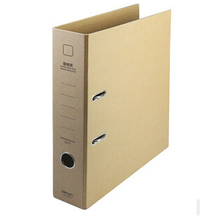 Recycled Brown Kraft Paper Lever Arch File