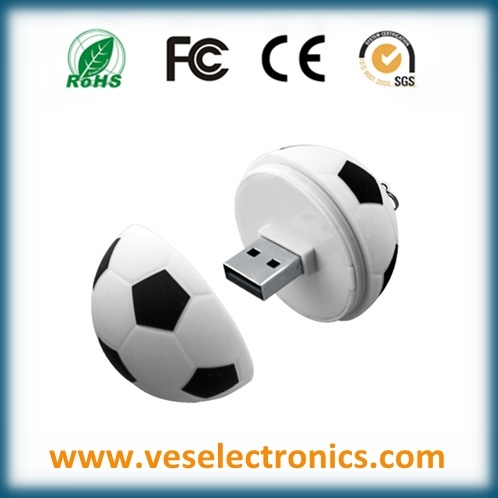Promotional World Cup USB 2.0 Football USB Flash