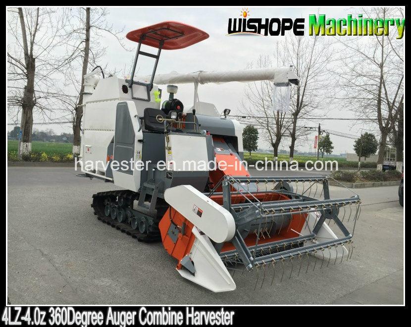 Copy Kubota 360 Degree Rice Unloading Auger Grain Combine Harvester