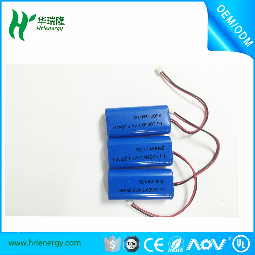 Power Supply Lithium Battery for Cordless 18650 Cells Pack