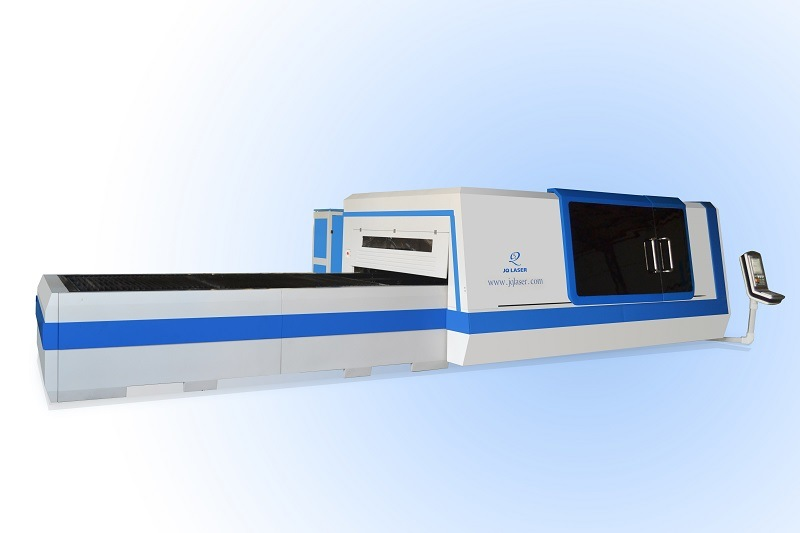 Higher Laser Power Fiber 3000W Metal Sheet Cutting Machine
