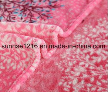 Super Soft Printed Flannel Blanket Sr-B170213-18 Printed Coral Fleece Blanket