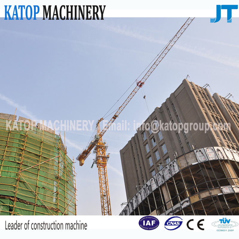 Qtz63 Series Tc5013b-6 Double Gyration 6t Load Tower Crane