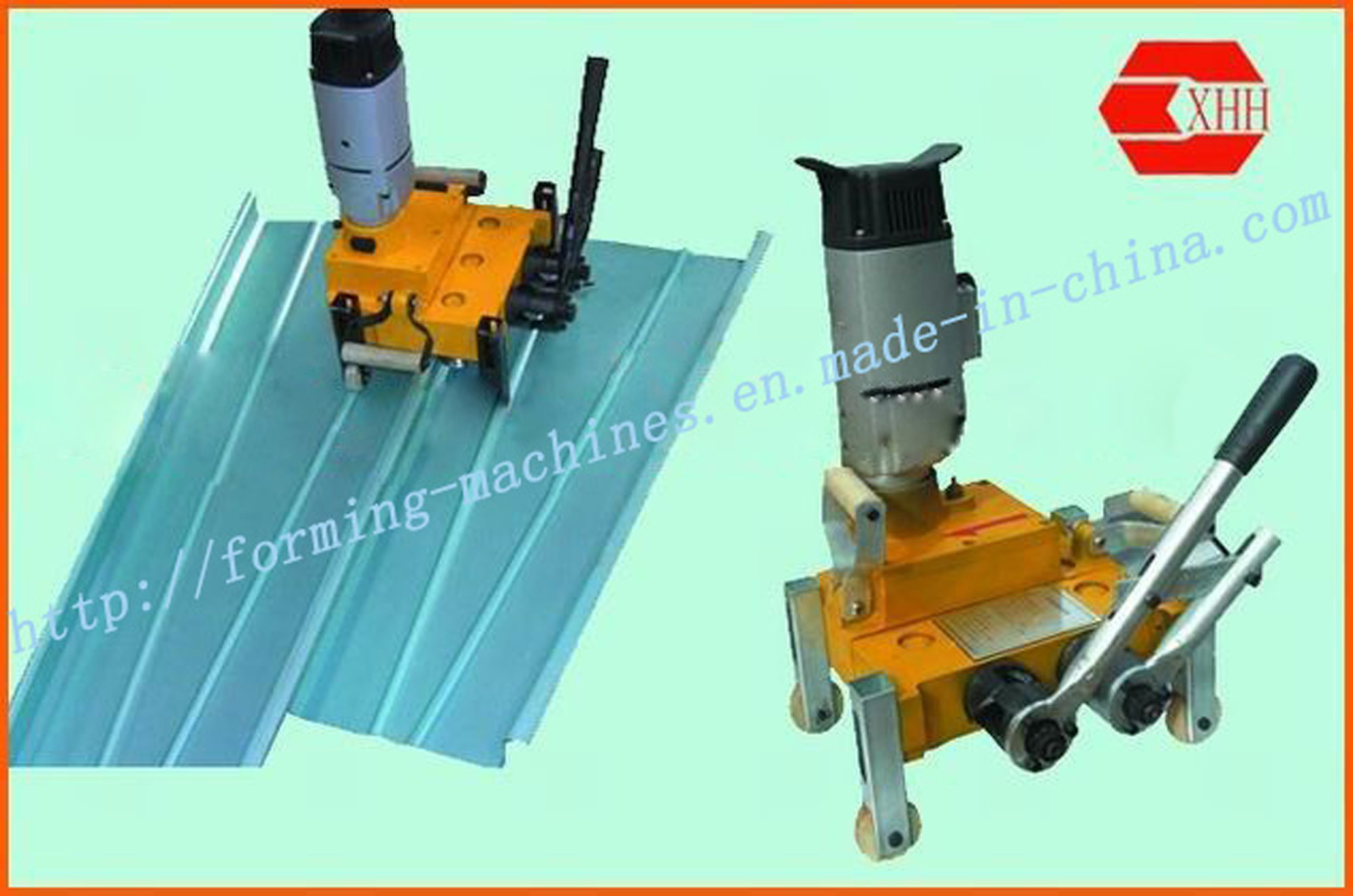 China Electric Seamer For Standing Seam Roofing Automatic