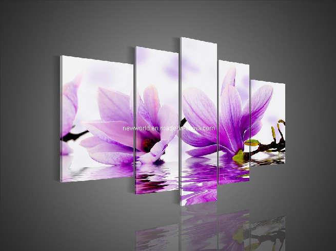 Peinture l 39 huile moderne de fleur peinture l 39 huile moderne de fl - Peinture a l huile moderne ...