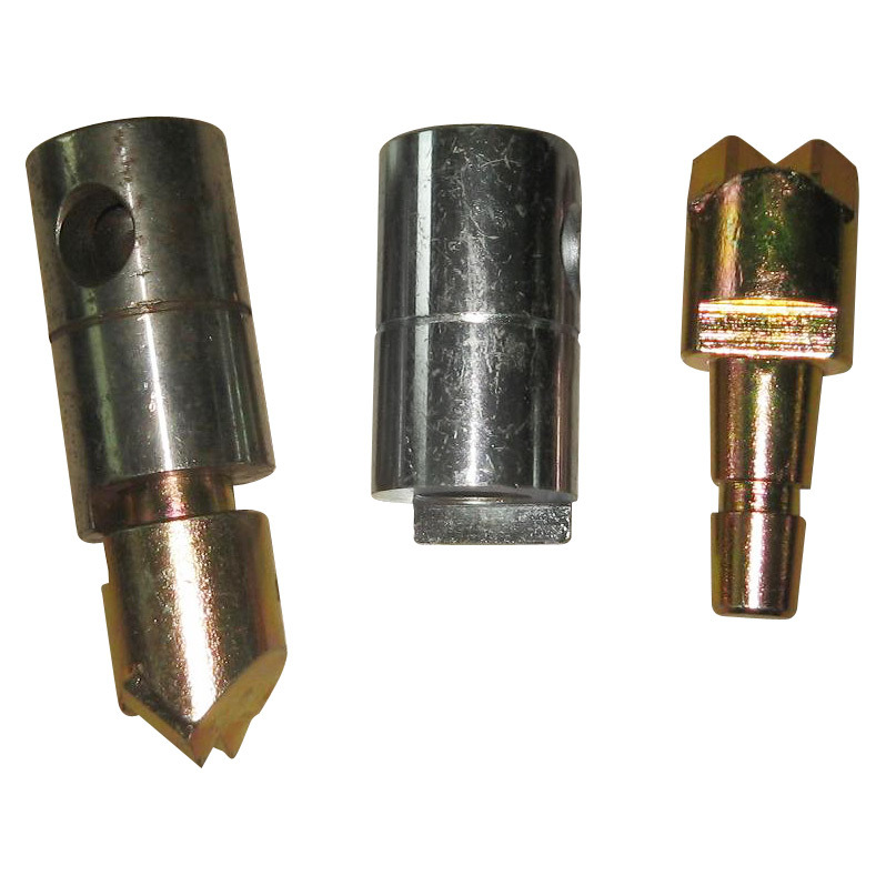 Two Carbide Auger Teeth and Holder