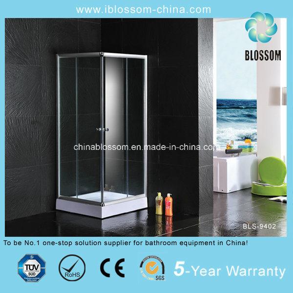 Satin Finished Bathroom Simple Shower Room (BLS-9402)
