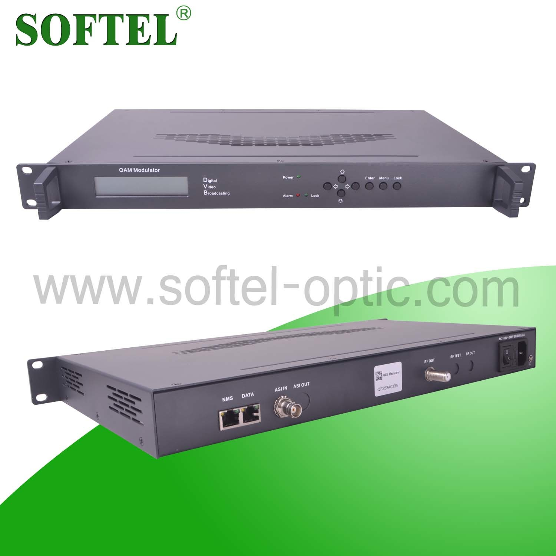 Digital CATV Cable TV 4 in 1 IP Qam Modulator