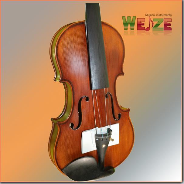 Middle Grade Antique Color Flamed Violin