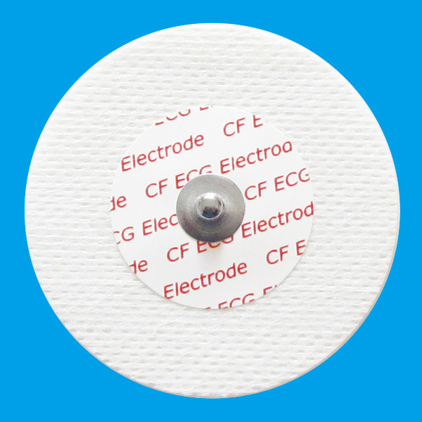 Non-Woven Disposable ECG Electrodes 55mm- for Adult