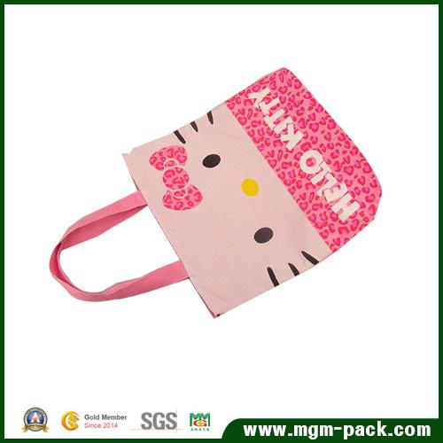 High Quality Fashionable Eco-Friendly Cotton Lady Handbag