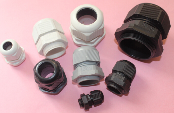 IP68 Pg Thread Nylon Cable Glands with UL, RoHS Reached