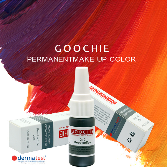 Goochie Micropigment for Permanent Makeup Tattoo