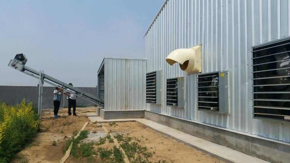 Poultry House Ventilation System with Slughter Room