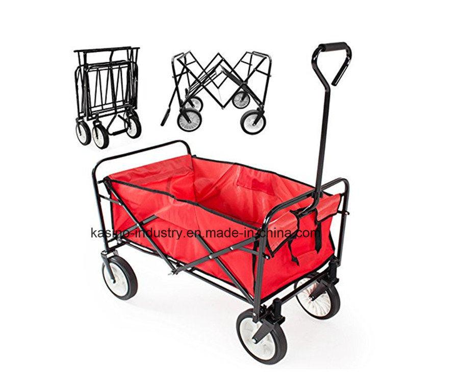 High Quality Outdoor Foldable Utility Beach/Kid/Baby Wagon Cart