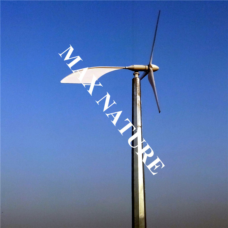 5kw Wind Generator for on Grid System Solution