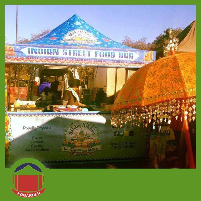 Printed Tent Used in Exhibition