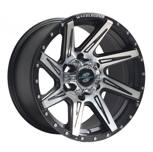 Chrome Rivets SUV Alloy Wheel UFO-856