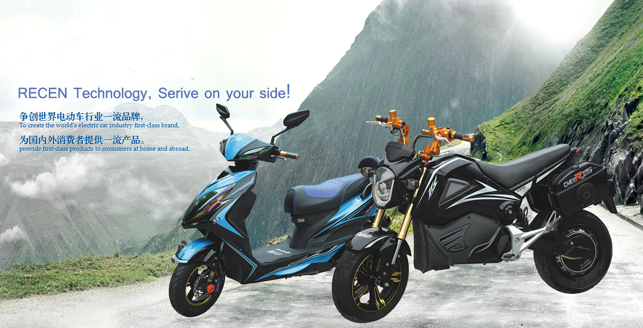 500W-1000W Disc Rear Brake Electric Scooters with 72V 20ah