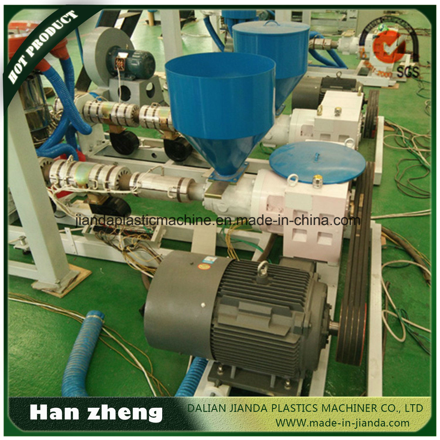 PE Three Layer Co-Extrusion Film Blowing Machine for Agriculture 45-3-1300